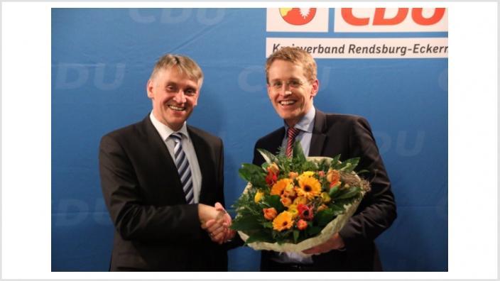 CDU geht wieder mit Hans Hinrich Neve ins Rennen um den Wahlkreis Rendsburg